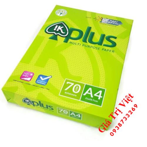 Giấy A4 IK Plus (70) ( 500 tờ/ram)