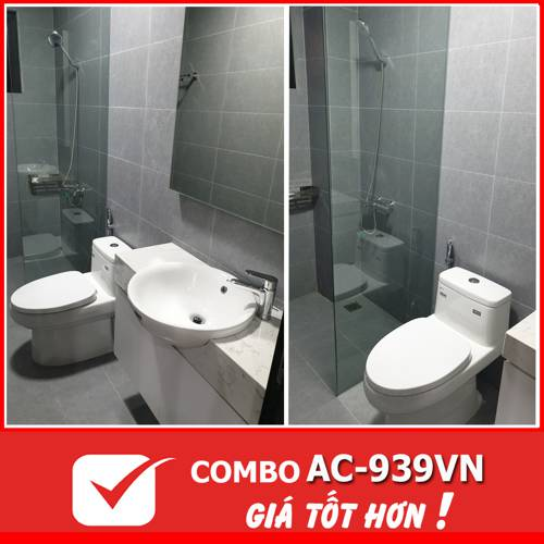 COMBO phòng tắm INAX AC-939VN (3413T)
