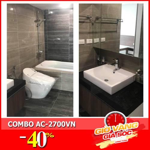 Combo phòng tắm cao cấp AC-2700