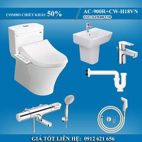 COMBO phòng tắm INAX khuyến mại khủng hè 2021 - Chiết khấu 50%