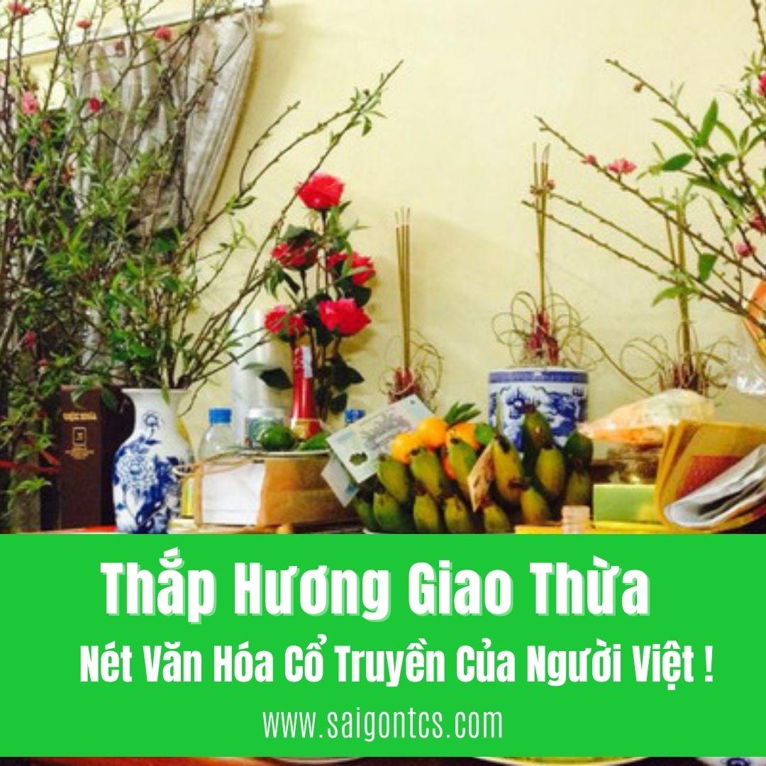 Thắp Hương Giao Thừa - Nét Văn Hóa Cổ Truyền Của Người Việt !