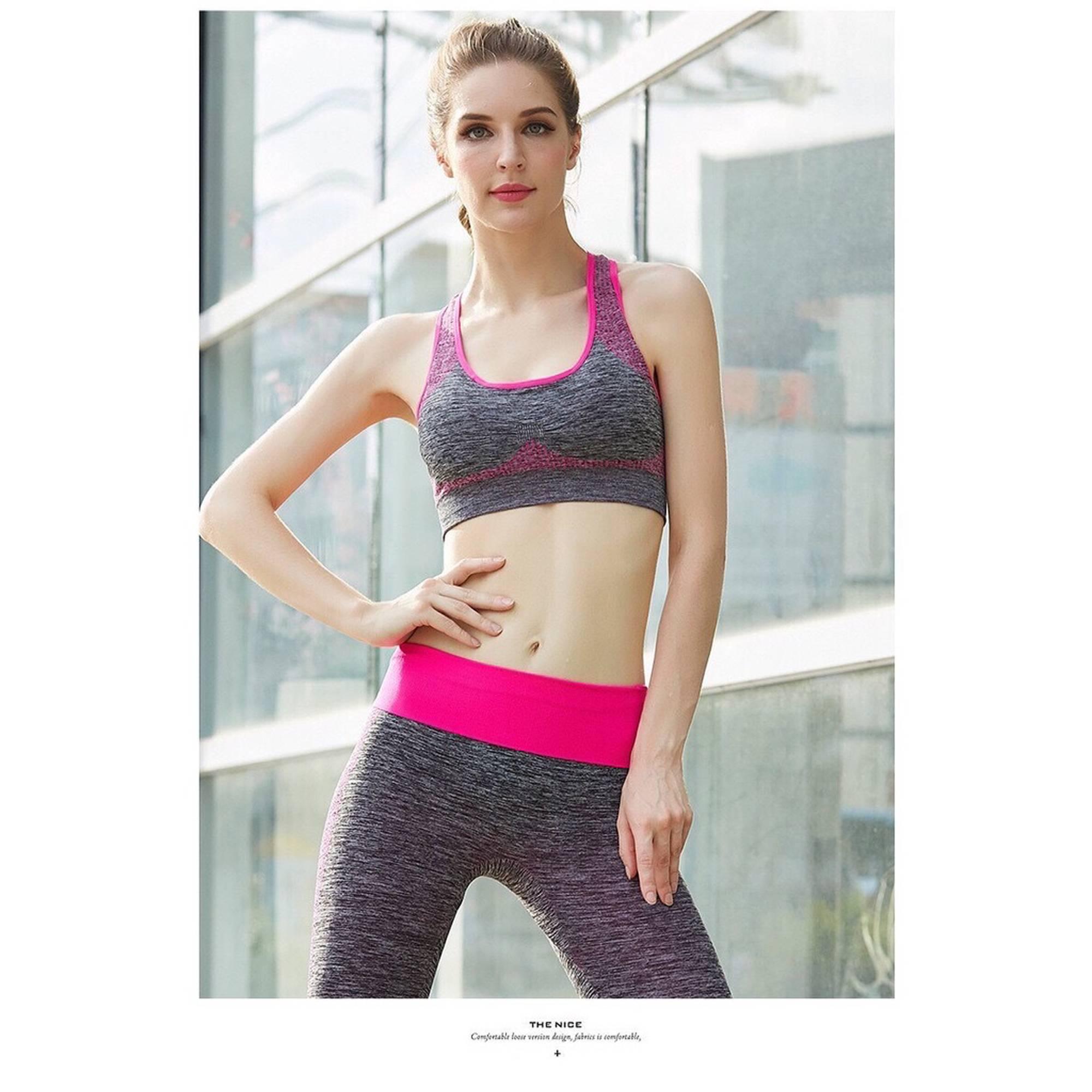 Bộ Quần Áo Tập Gym, Yoga, Aerobic