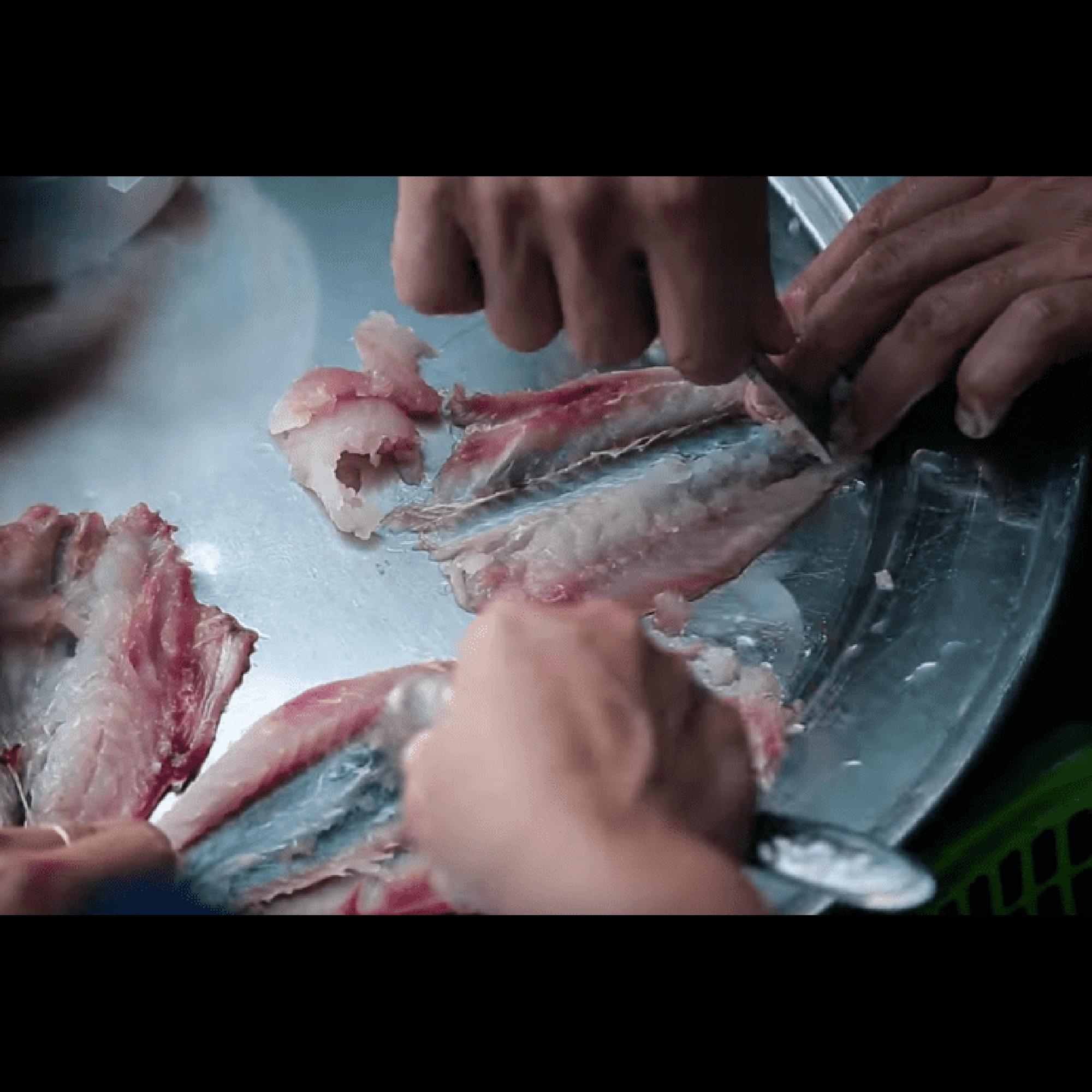 Chả cá đỏ củ Lý Sơn đã quết sẵn vàướp gia vị 500gr
