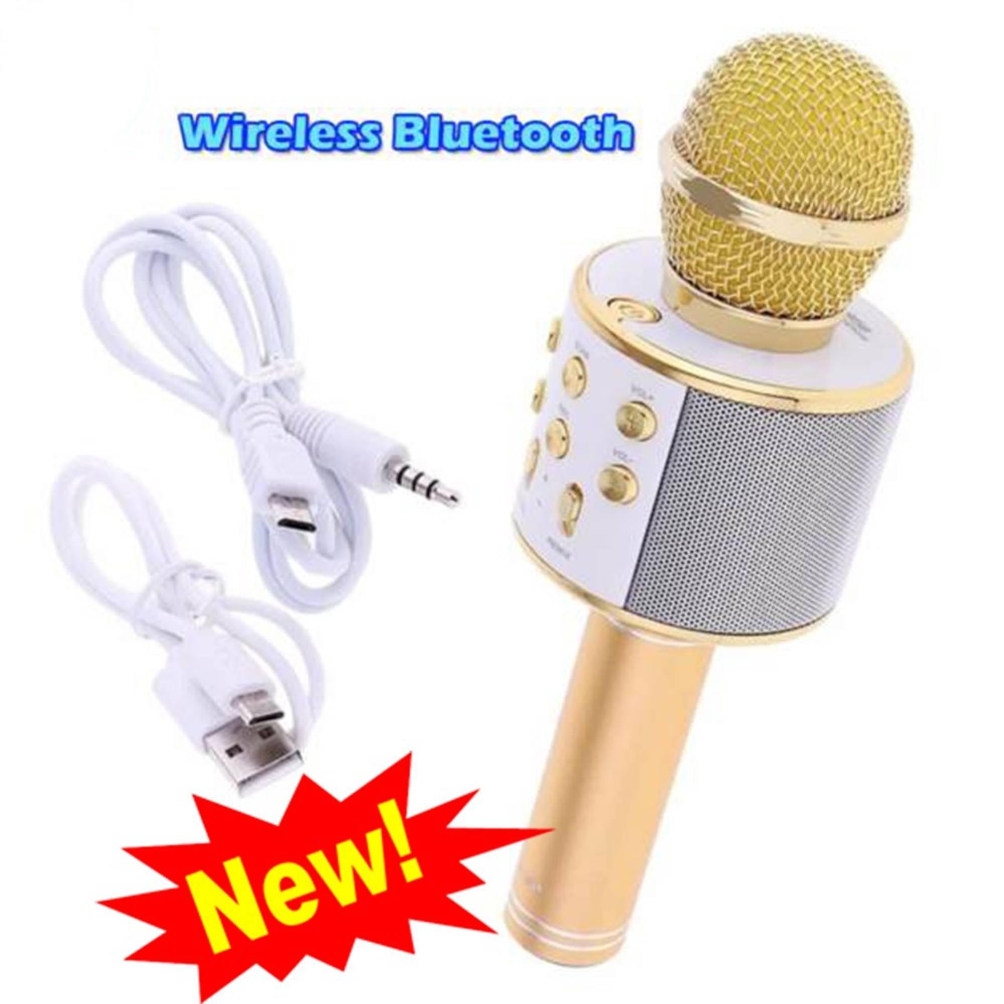 Microphone Karaoke Kèm Loa WSTER WS-858